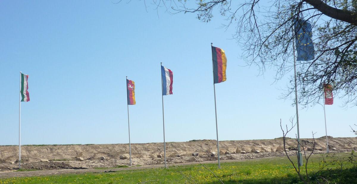 Flagge oder kommt nun die eu flagge dran statt der berliner